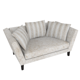 Regency Medium Sofa, Marlow Putty/Marlow Putty Stripe