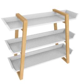 Airframe Bookcase, White