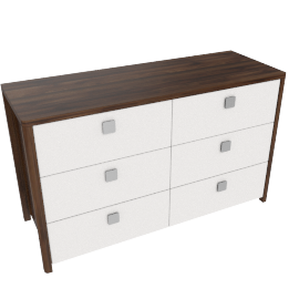 Copenhagen 6-Drawer Dresser