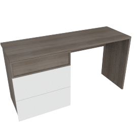 Giorgia 3-Drawer Dressing Table