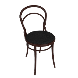 Era Side Chair with Upholstered Seat