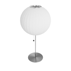 Nelson Ball Table Lamp, White