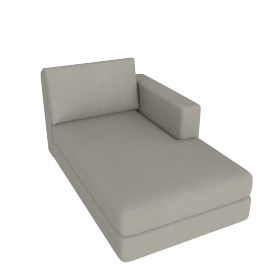 Eterno Chaise Right, Caramel