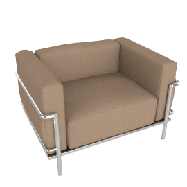 Outdoor LC3 Grand Modele Armchair, sand