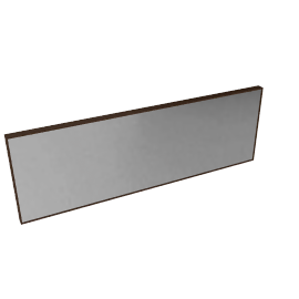 House by John Lewis Full Length Box Mirror 120 x 40cm