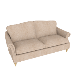 Kingsley Large Sofa, Rivoli Putty
