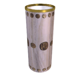 cammei cylinder umbrella stands by fornasetti