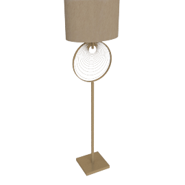 Springloaded Floor Lamp
