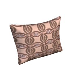 Leaf Tiles Cushion, Natural