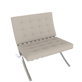 Barcelona® Chair and Stool, Child-Size