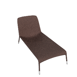 Scoop Chaise Longue - Bronze