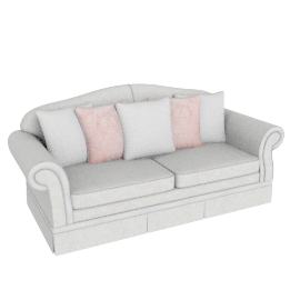 Brinkley 3 Seater Beige
