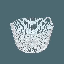 Korbo Handmade Wire Basket, Classic 35, Stainless Steel