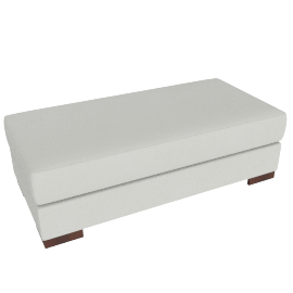 Signature Storage Ottoman, Dove
