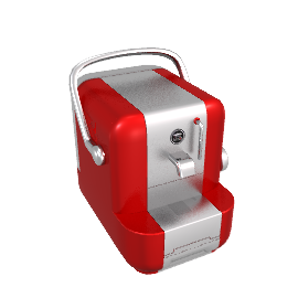 Saeco A Modo Mio Lavazza Extra Coffee Maker, Red