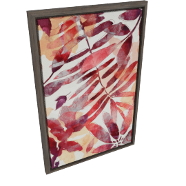 Foliage Framed Art - 90x4.5x60 cms