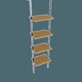 Matrix Single Narrow Shelf Unit