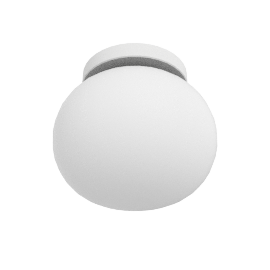 Glo-Ball Ceiling Zero Sconce