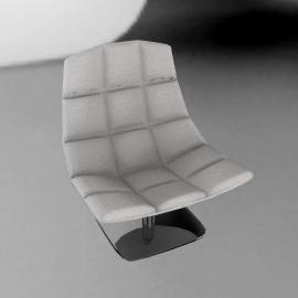 Jehs and Laub Lounge, Pedestal Base – Fabric