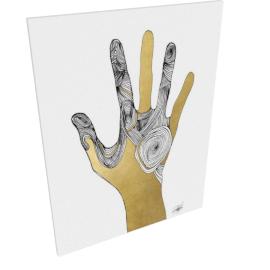 Sign Language I by KelliEllis - 24''x32'', Gallery wrap