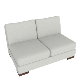 Signature 2 Seater Armless, Dove