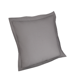 Indulgence 2-piece Cushion Cover Set - 45x45 cms, Grey