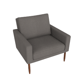Raleigh Armchair - Slubby Weave, Heather