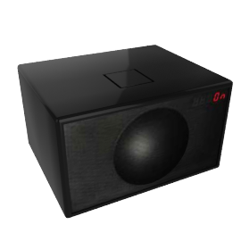 Geneva Sound System - Large - Black
