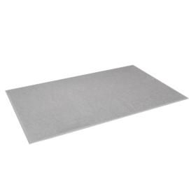 DWR Plush Bathmat, Grey