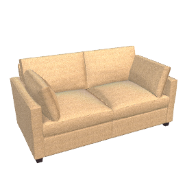 Ravel Small Sofa Bed, Sand