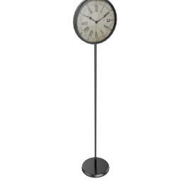 Time Sign Floor Clock