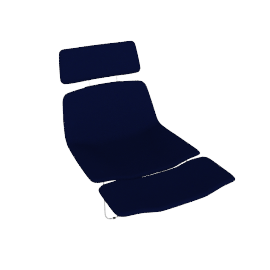Cappellini Spring Armchair with Head and Footrest