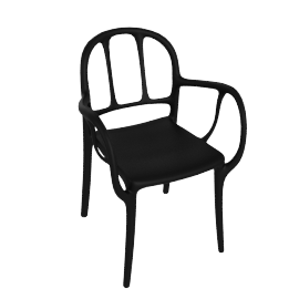 Mila Chair, Black
