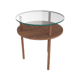 Unison Two Tiers Side Table