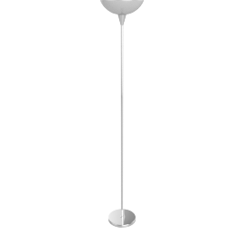 Mac Uplighter Floor Lamp, Silver