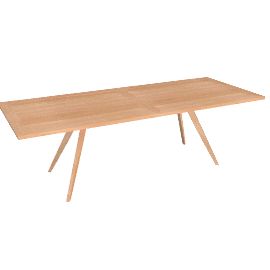 Rusa Rectangular Dining Table - Teak