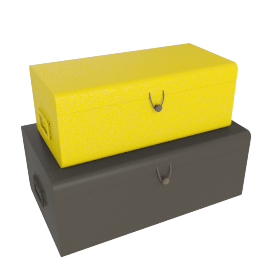 Daven set od 2 storage boxes