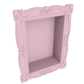 Lisa single wall shelf Pink