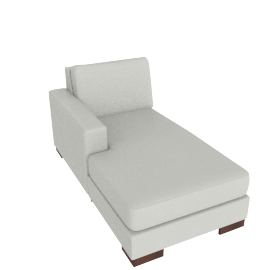 Signature Chaise Left, Dove