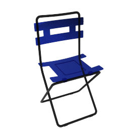 Lolly Folding Chair, Blue