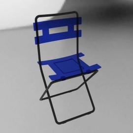 Lolly Folding Chair, Blue