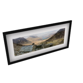 James Bell - Retreat Framed Print, 49 x 104cm