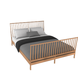 King Size Bedstead