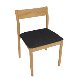 Terassi Side Chair, Char