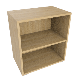 Match Shelf Unit, Oak