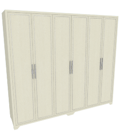 Kiera 6-Door Wardrobe