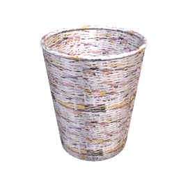 Recycled Newspaper Wastepaper Bin