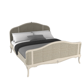 Rose Bedstead, Super Kingsize, Ivory