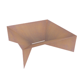 Plodes Geometric Fire Pit, Large
