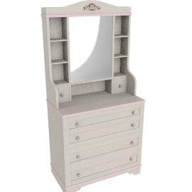 Gardenia Dresser with Mirror